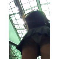 香港セレブ美女のパンティをエスカレーターで視姦する その1