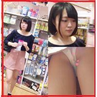 [犯罪確定】無防備な上京したてのロリ学生!!食い込み純白パンツ頂きました!!!