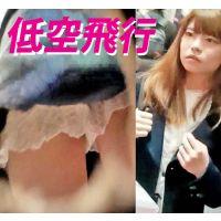 Vol.115【盗撮風 逆さ フルHD 低空飛行】美少女たちにロックオン!
