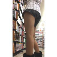 【HD動画】ロリショートパンツでムチムチ太もも♪