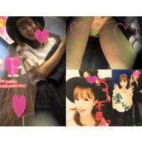 ◆ニコニコ笑顔の超美人のお姉さんとデート◆花柄パンティー、ふっくらマ〇コをたっぷり長時間盗撮!!