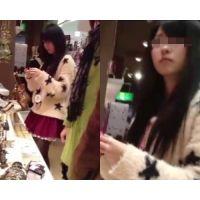 ショップ店員さんと買い物中のお客さんにロックオン!vol.1
