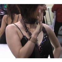 美貌のキャンギャル イベント 全身フェチプレミアム 黒の象徴