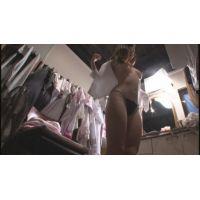 【着替え盗撮】 パンスト美人の生着替えをこっそり撮りました!