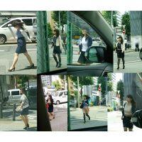 街撮り ソロシリーズ No10 たれ目がかわいいムチムチOLさん