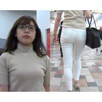 パンツのフィット感が 超激エロな 極上尻の お姉さん:後編★お勧めです!【極♀尻 086】