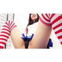 【FHD】黒髪美少女の島風コス超接写しちゃいました!Vol.2
