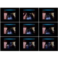 【悪戯映像】ムッチリした生保レディが営業にやってきたのでデスクの下にカメラを仕掛けてみた...