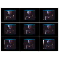 【悪戯映像】生保レディが事務所に営業に来たのでデスク下にカメラを仕掛けてスツールに座らせてみた...