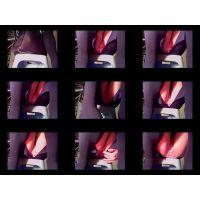 【悪戯映像】保険営業の美人お姉さんのデスク下にカメラを仕掛けてみた...