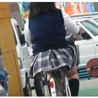 自転車パンチラ訳してチャリチラ!番外編4~8セット