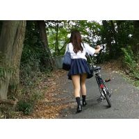 自転車パンチラ訳してチャリチラ!高画質編 �8
