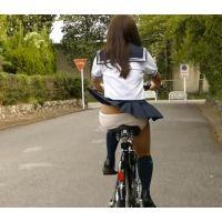 自転車パンチラ訳してチャリチラ!爆風編!!�6