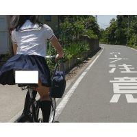 自転車パンチラ訳してチャリチラ!爆風編!!