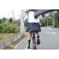 自転車パンチラ訳してチャリチラ!高画質編11〜15