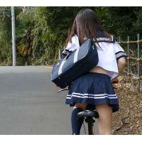 自転車パンチラ訳してチャリチラ!高画質編 �2