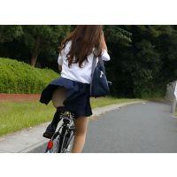 自転車パンチラ訳してチャリチラ!高画質編 �9