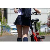 自転車パンチラ訳してチャリチラ!高画質編 �10