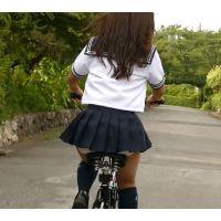 自転車パンチラ訳してチャリチラ!爆風編!!�5