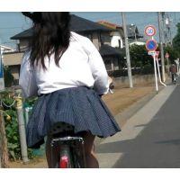 自転車パンチラ訳してチャリチラ!番外編9
