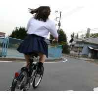 自転車パンチラ訳してチャリチラ!爆風編!!�10