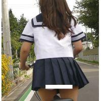 自転車パンチラ訳してチャリチラ!爆風編!!�4