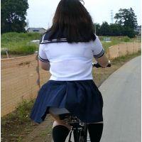 自転車パンチラ訳してチャリチラ!高画質編 �25