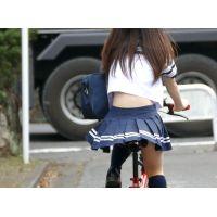自転車パンチラ訳してチャリチラ!高画質編 �7