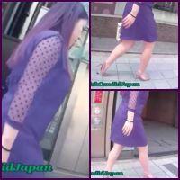 セクシーなヒールを素足で履いたグラマー系激カワお姉さんの街歩き 其の1
