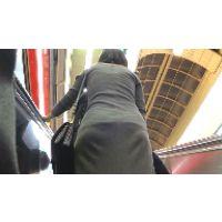 【FHD 60fps動画】ニットワンピースOLのパンティーライン(長編バージョン)