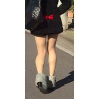 ミニスカ ショーパンの綺麗な脚