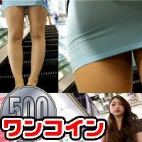 【素人顔出しオリジナル】市街地で透け透けミニスカ娘を追跡盗撮風動画