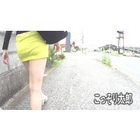 日常の風景03  ミニスカ娘の追いかけキャプチャー