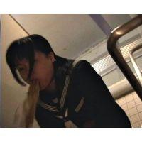 [ゲロ] 公衆トイレでJ○大量嘔吐_v07_あみ