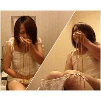 [ゲロ/スカ] トイレ駆け込み下痢嘔吐_v06_あみ_ABセット