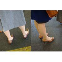 美形お姉さんの脚