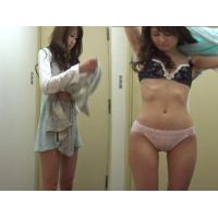 【着替え盗撮】盛りマンの美女を盗撮。会議中に見えないカメラでの生着替えが映ってました!!!