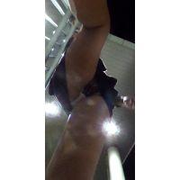 【駅〜駅周辺の建物編】360度カメラで撮影したパンチラ【RICOH THETA】