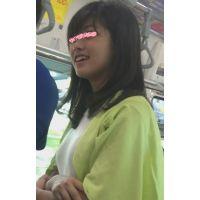 【逆さpart7】清楚系童顔!駅ホームで白ワンピから生P!