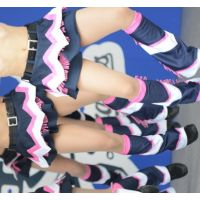 ★懐かしきチアガール Dブルー12〜14セット販141枚★!