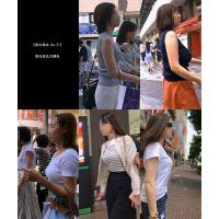 【街の美女_No.21】着衣巨乳の横乳