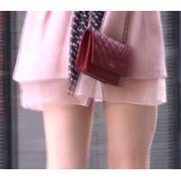 【清純派】汚れのない綺麗なミニスカートと裏モモ