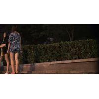 【視姦動画】遊び疲れた二人の悪い娘(美人)