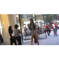 【モデル】読モ系美人を街で激撮