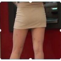 【高画質】ATMの後ろ尻を観察