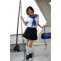 ◆素人投稿動画 黒髪ショートの●リっコ、露出クルーズで大絶叫!可愛いです!file02a クルーザーで遊びに行きます!船室でご奉