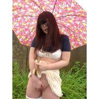 ◆素人投稿動画 アニオタぽっちゃりパイパンメガネ女子 もも(18歳)ちゃん 可愛いです!file01b 道●でオナニーさせました