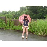 ◆素人投稿動画 アニオタぽっちゃりパイパンメガネ女子 もも(18歳)ちゃん 可愛いです!file01a 道●でパイパンマ●コをさ