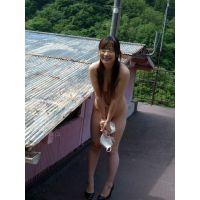 ◆素人投稿動画 ◆HD高画質 千●在住のエロOLをゲット!見せたがりの露出女です!file03a 野外で制服を脱がして裸にさせま