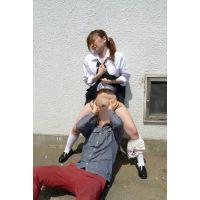 ◆素人投稿動画 美乳でナイスバディの●女 優奈(18歳) エロいです!file06 駐●●でバイブ責め!全裸放置!◆本編目線無し